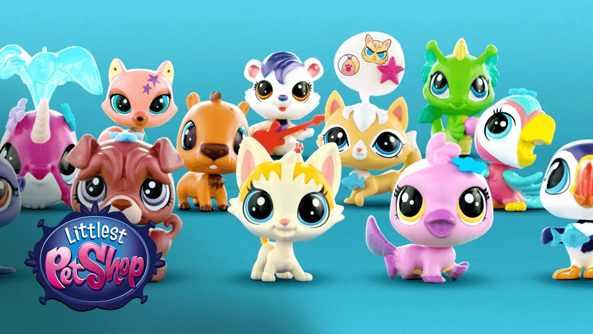 Игрушки Littlest Pet Shop