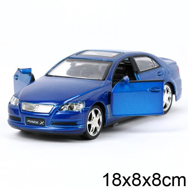 Машина  TOYOTA  MARK X, 1:32, металическа  свет +звук