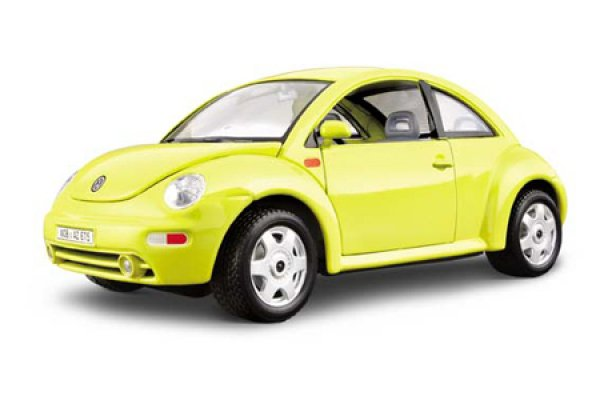 1:24 сборка AM VW New Beetle (1998)