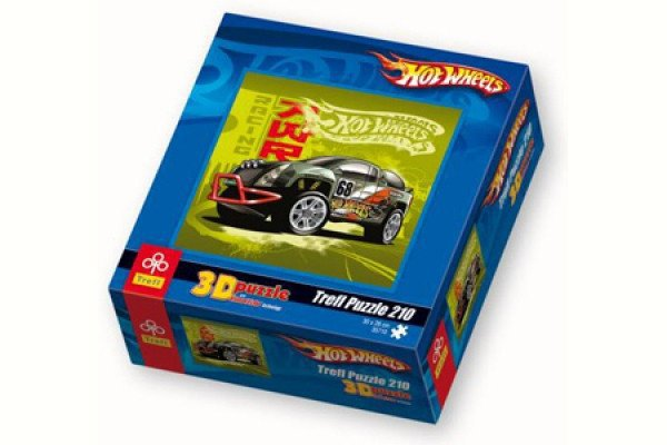 Пазл 3D Hot wheels 210 дет. 35710
