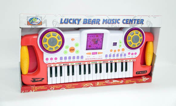 Инстр. муз. на батар. Lucky Bear Music Center BOX 62*24см. SD-966