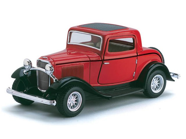 Машина 1:34 Ford 3-Window Coupe 5332WKT