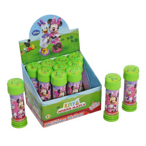 1toy Disney, MB, мыл.пуз., 60мл  с игрой