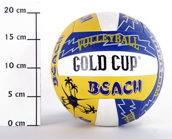 Мяч вол.,280г, PVC,matt,2слоя, Volleyball Beach, арт. RV08