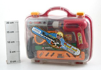 Игр. набор инструментов BOX 31*21*10 см Super Power Tools арт.2064
