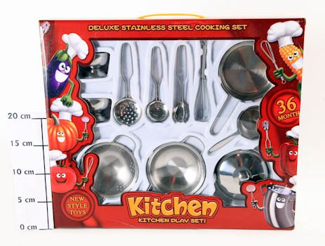 Набор посуды Kitchen Set, ВОХ 42х36х6см, арт.CY686A.