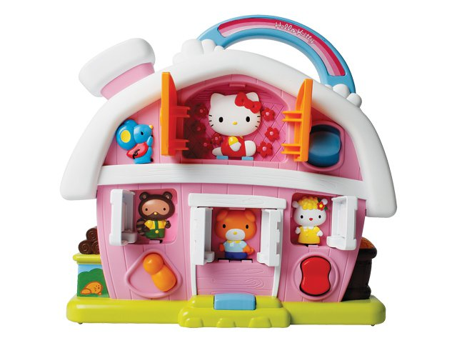 Логика 65001 HELLO KITTY Фермерский дом-1