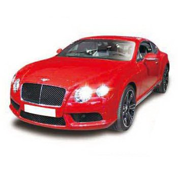 Метал.инерц. модель 5 (М1:32) RMZ CITY Bentley 2012 Continental GT V8, арт.554021.