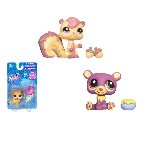 1102917 Зверюшка 93670E2493670148 на блистере LITTLEST PET SHOP HASBRO