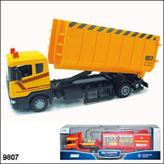 Машина мет. SCANIA LORRY,стройконтейнер 1:48