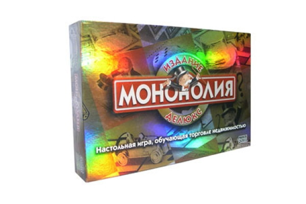 Монополия Deluxe (русск. яз.)