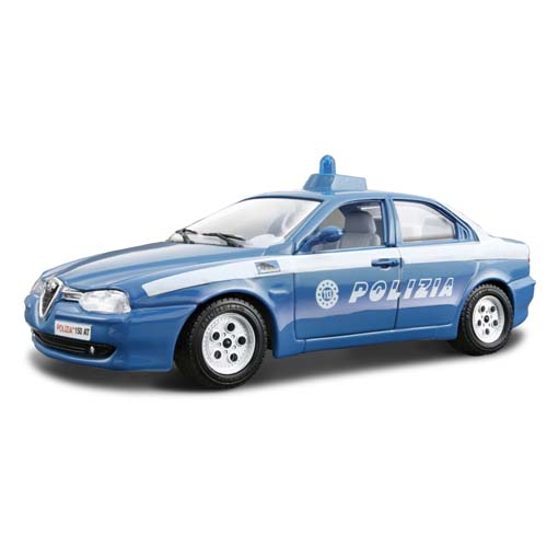 Bburago  1:24 AM Security Force Alfa Romeo. 156 POLIZIA (1997)
