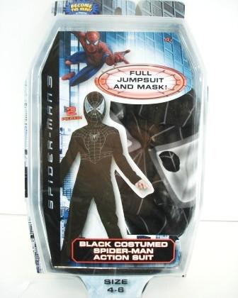 Игрушка чёрный человек паук
