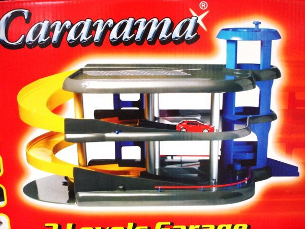 Игрушка гараж три уровня с машинками