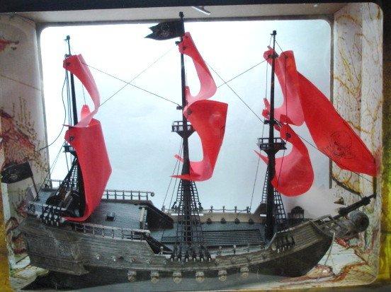 корабль для рыбалки на пульте управления