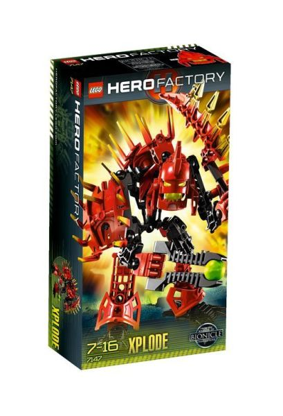 Конструктор LEGO-HERO FACTORY Эксплод
