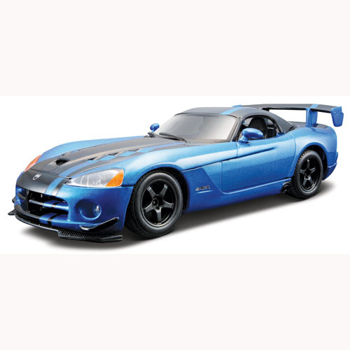 Bburago  1:24 сборка Dodge Viper SRT10 ACR