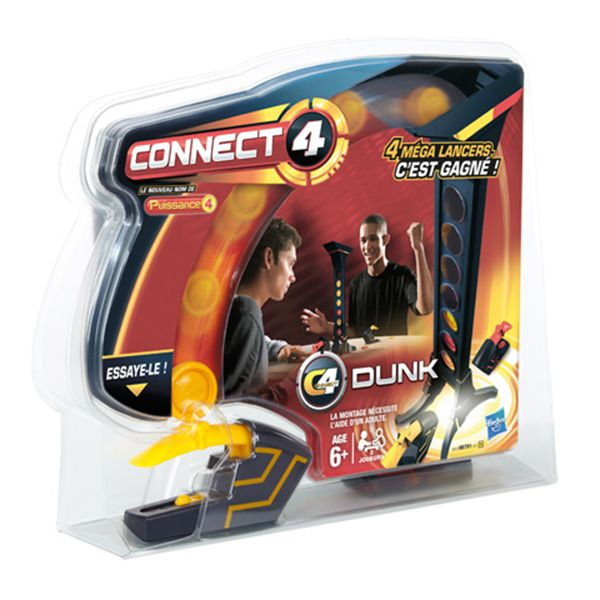 1110454 Игра 98791 Собери 4 DUNK OTHER GAMES HASBRO