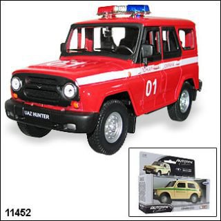 ������� UAZ Hunter �������� ������ 1:36 Welly 11452