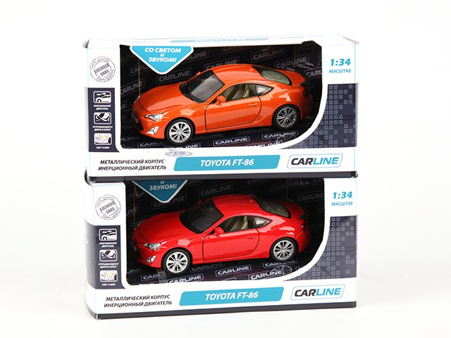 ������ 1:34 TOYOTA FT-86 6979GT, ������,