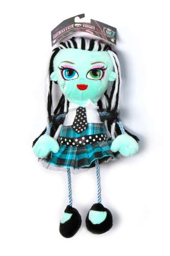 1toy Monster High кукла плюш.Фрэнки Штейн,35 см,пакет