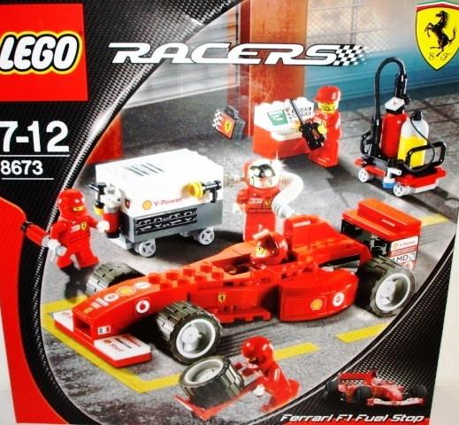 8673 Lego Racers Zapravochnaya Stanciya 8673 Lego Rajsers 8673
