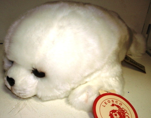 Игрушка мягкая тюлень купить