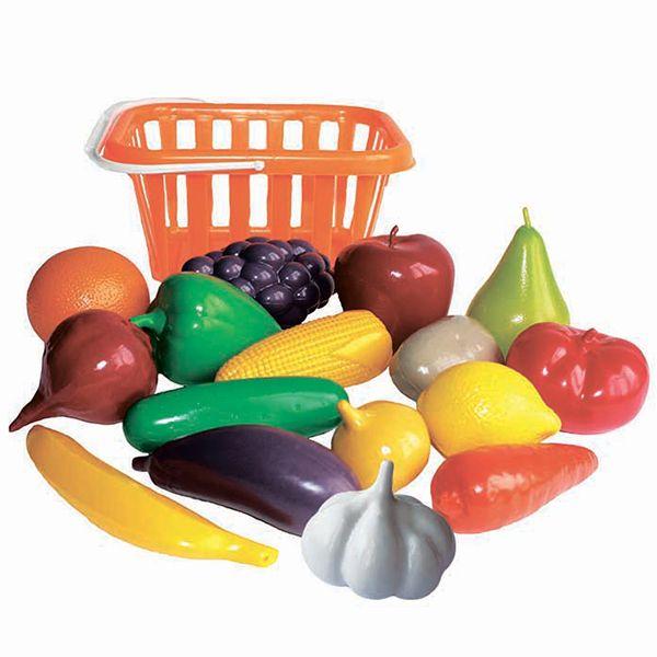 У758 Игровой набор Фрукты и овощи в корзине по ...