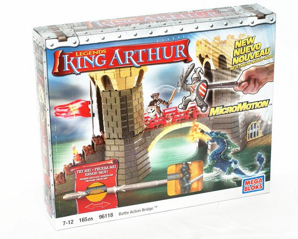 Конструктор MEGA BLOKS LEGENDS KING ARTHUR
