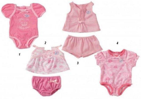 Одежда беби бон