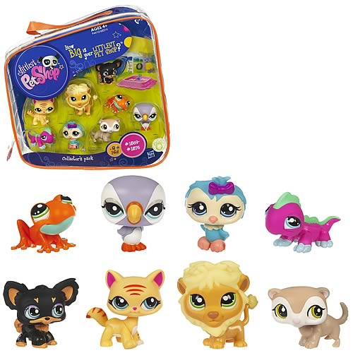 Сумочка с 8-ю зверушками, Littlest Pet Shop