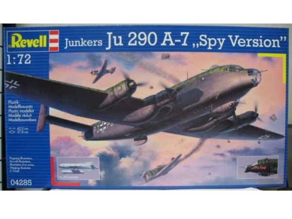 Самолет Junkers Ju 290 A-7 Spy Version Revell