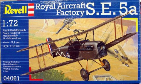 ������� Royal Aircraft Factory S.E.5a 1:72 Revell