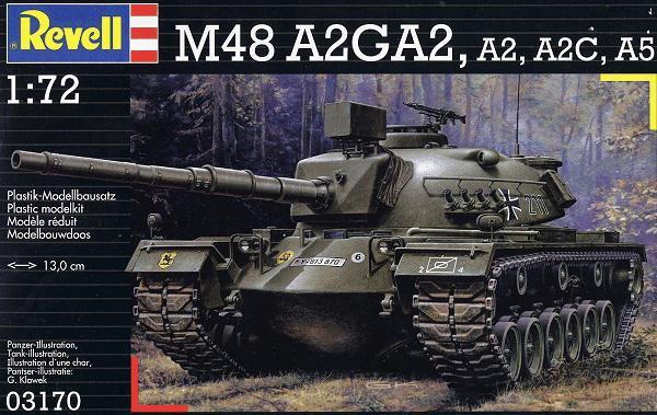 Танк M48 A2A3 (1:72) Revell