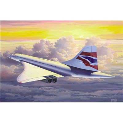 ������ ������� Concorde British Airways Revell