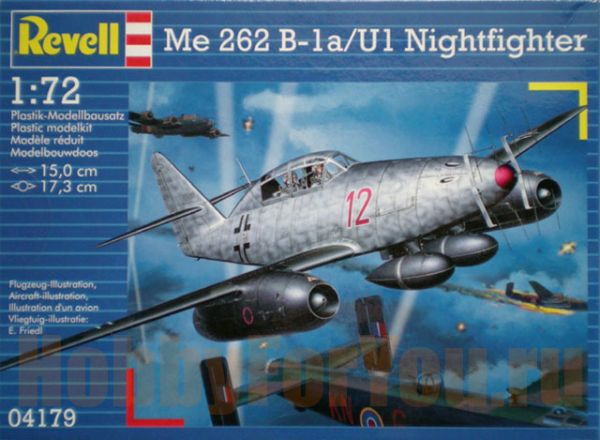 Самолёт Me 262 B-1aU1 Nightfighter (172) Revell