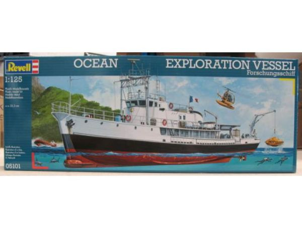 Судно Ocean Exploration (1125) Revell