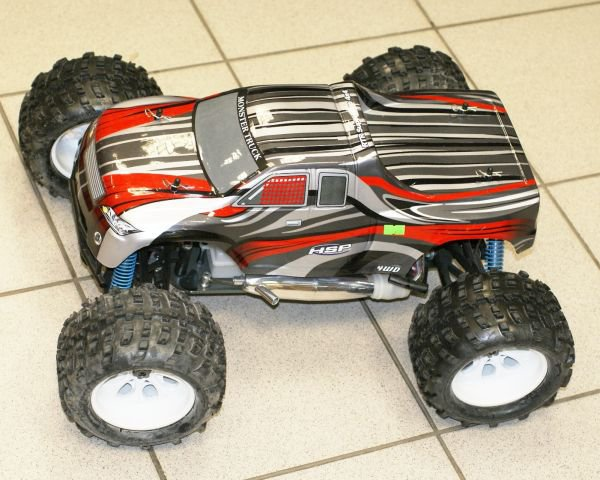Внедорожник HSP AFA-K9 Nitro Off Road Truggy 1:8