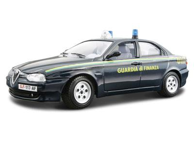 Bburago  1:24 AM Security Force Alfa Romeo 156 Guardia di Finanza  (1997)