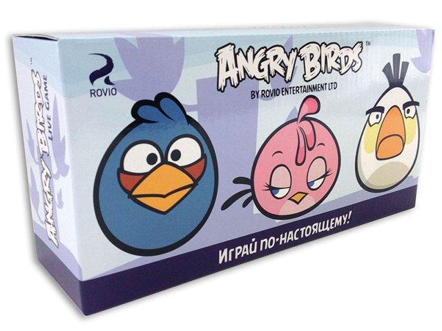 ����� ������ Angry Birds, 3 �����, ������ 7,5 ��, �����, �������, �������, �������