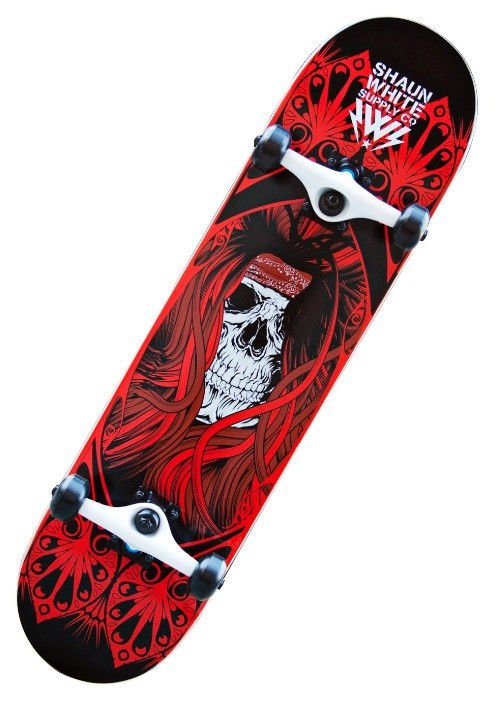 Скейтборд SKULL GRAFFITI W3108B-S SHRED 31
