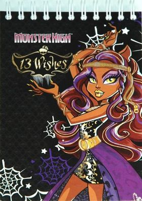 MONSTER HIGH Блокнот А6, 60л.спираль