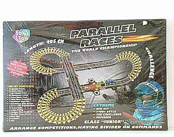 Трек 495см  Play Smart  Parallel Races Box 50x34х7,5см арт. 0812
