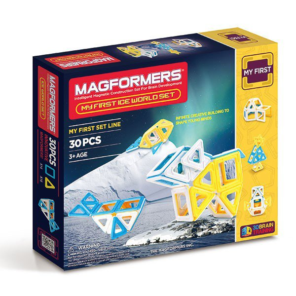 ��������� ����������� MAGFORMERS 63136 Ice World