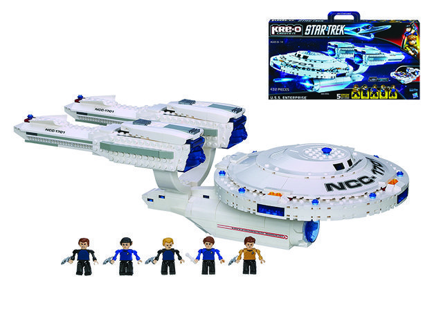 Набор 3137A KRE-O Star Trek USS Enterpri
