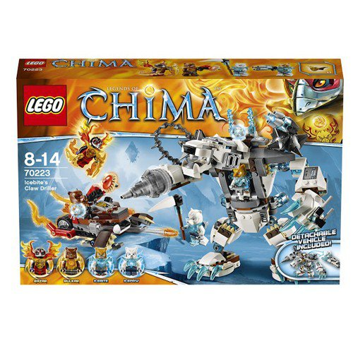 ����������� LEGO LEGENDS OF CHIMA ������� ��� ��������