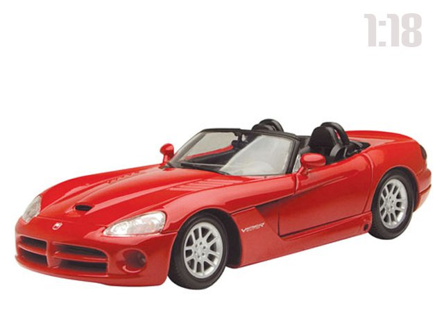 Машина 73137 Dodge Viper SRT10 Roadster