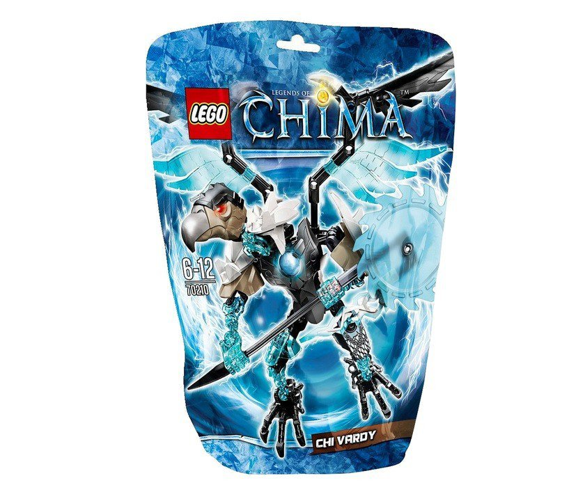 Конструктор LEGO LEGENDS OF CHIMA ЧИ Варди