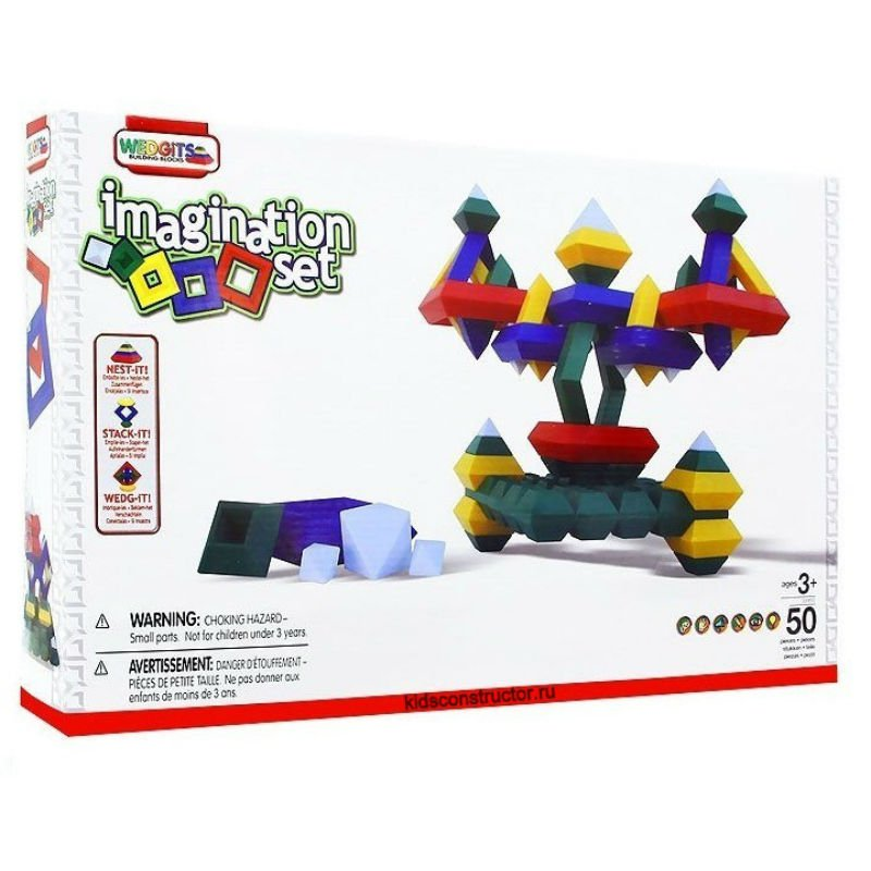 Конструктор Imagination Set (50 деталей)