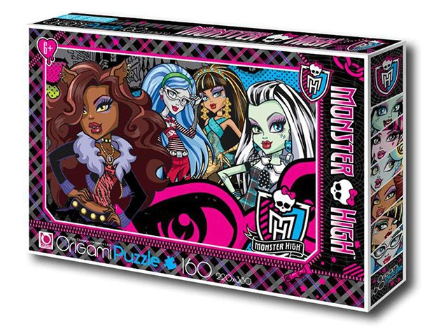 Пазл 160A. 00215 Monster High ORIGAMI